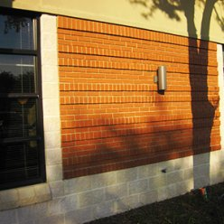 Split Face Block with Brick – Office Buildings in Shalimar, FL